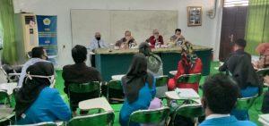 Pembukaan Ujian Skripsi mahasiswa Fakultas Ekonomi Universitas PGRI Palembang
